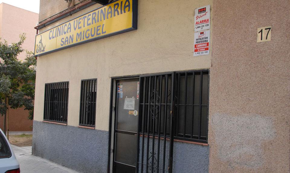 Clínica Veterinaria San Miguel (Madrid) C/ Costa del Sol 17 28033